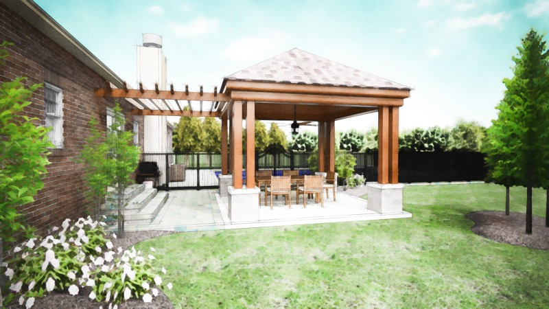Covered Patio Company Dayton - Patio Cover Designs ... on Small Outdoor Covered Patio Ideas id=66767