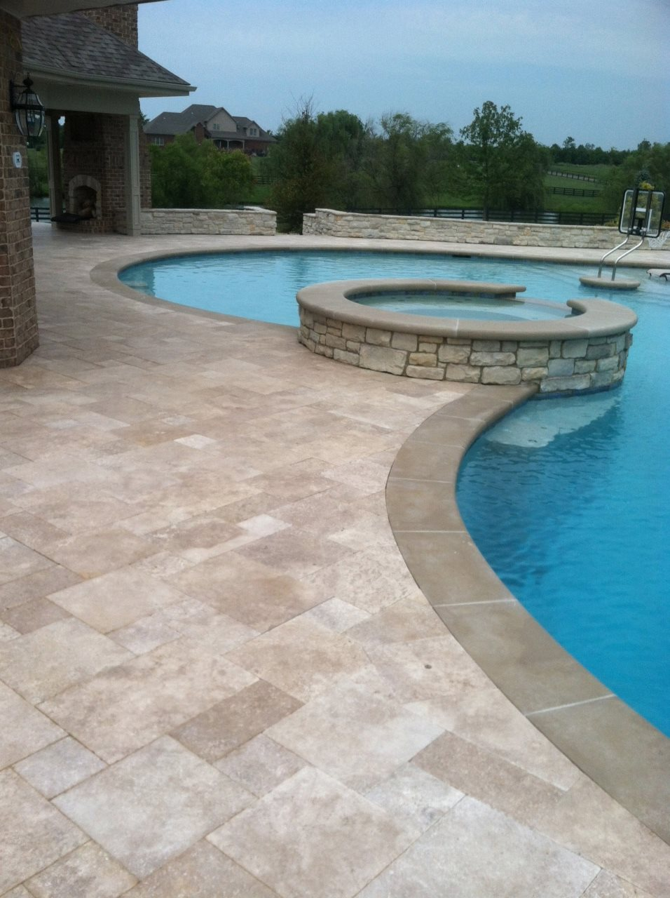 Pool decks pool design swimming pool builder dayton oh for Uses for old swimming pools